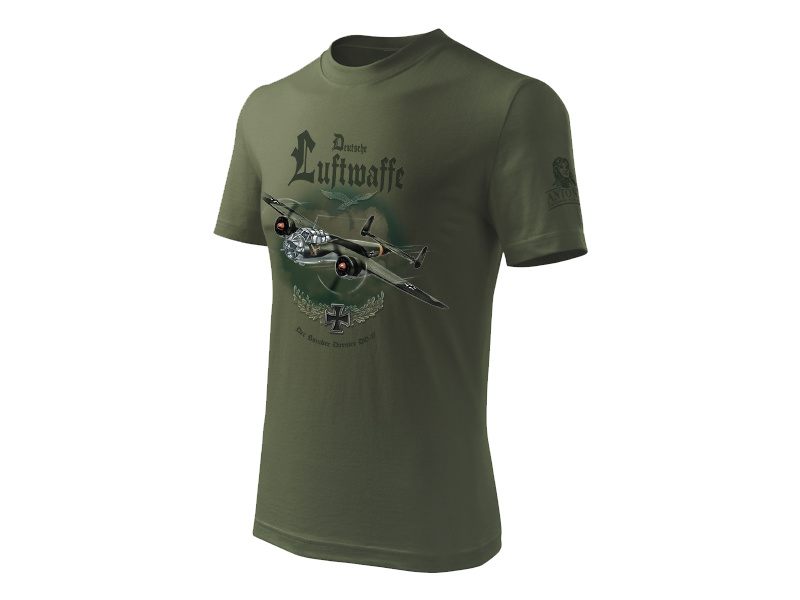 Antonio pánské tričko Dornier DO-17 S