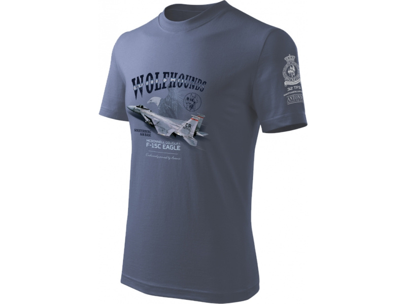 Antonio pánské tričko F-15C Eagle M
