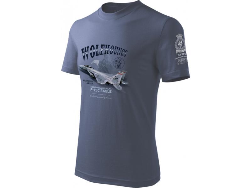 Antonio pánské tričko F-15C Eagle XL