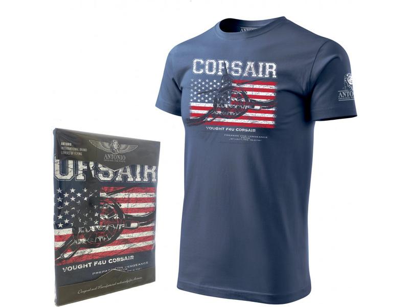 Antonio pánské tričko Vought F4U Corsair XL