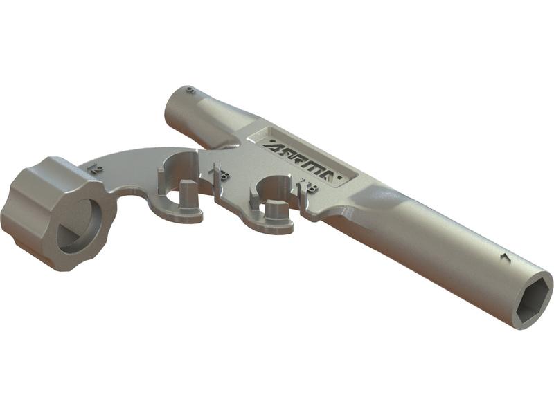 Arrma klíč univerzální kovový 5/7 mm, 11/15 mm
