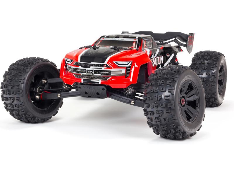 Arrma Kraton 6S V5 BLX 1:8 4WD RTR červená