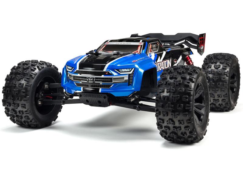Arrma Kraton 6S V5 BLX 1:8 4WD RTR modrá