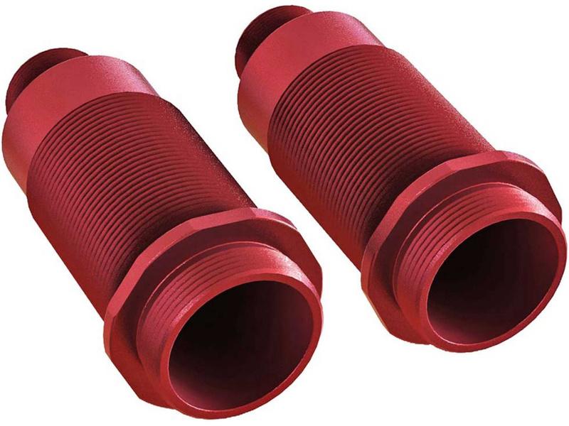 Arrma tělo tlumiče 16x54m hliník, červená 6S (2)