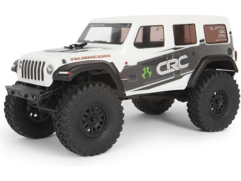 Axial SCX24 Jeep Wrangler JLU CRC 2019 1:24 4WD RTR bílý