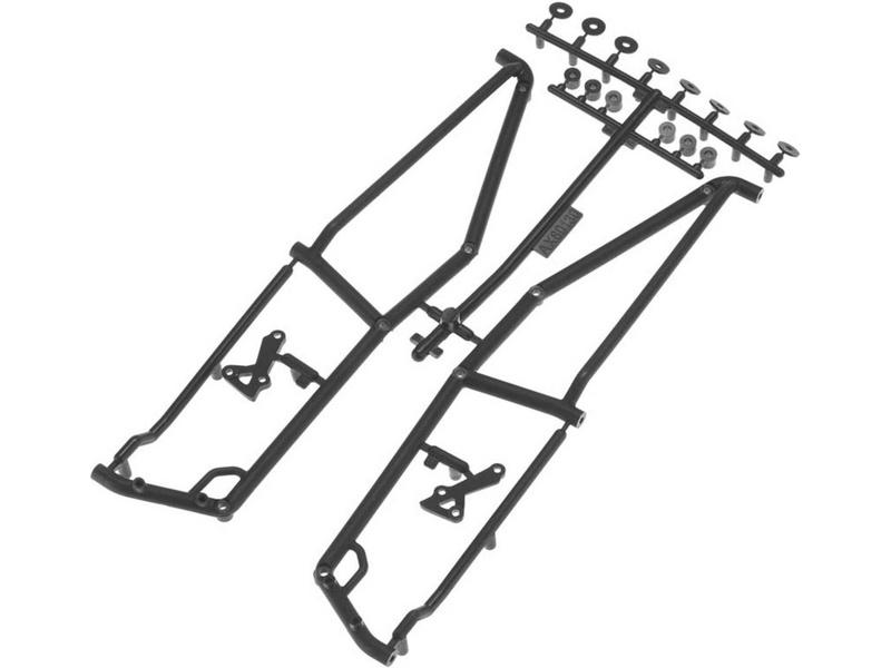 Axial boky trubkového rámu
