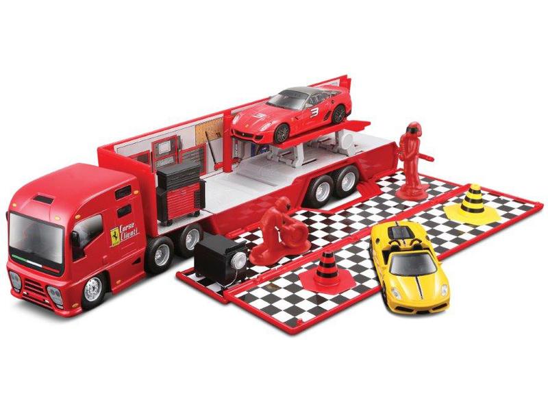 Bburago Ferrari Racing Hauler