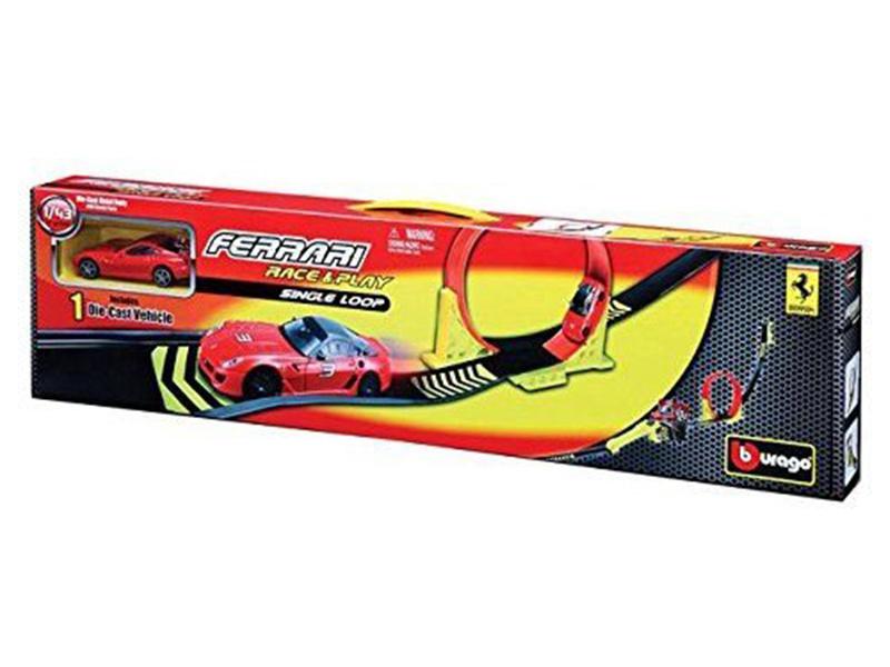 Bburago Ferrari závodní dráha s lopingem