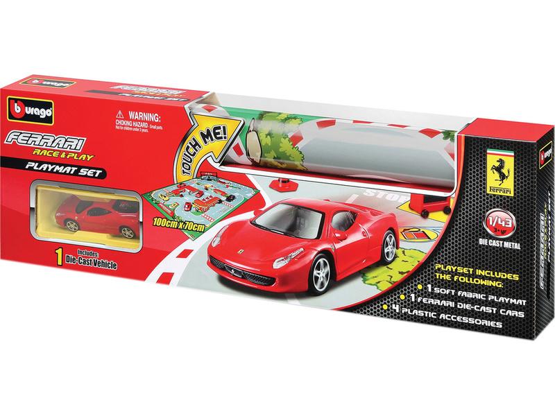 Bburago Ferrari hrací podložka s autem
