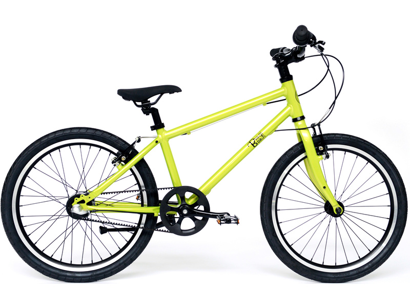 Bungi Bungi - Dětské kolo 20″ 3-rychlostní ultra lehké jablková zelená