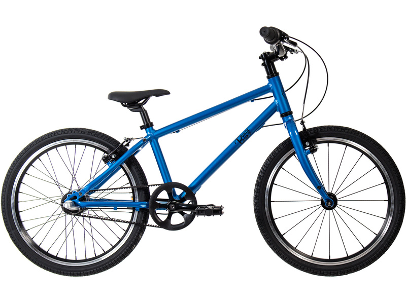 Bungi Bungi - Dětské kolo 20″ 3-rychlostní ultra lehké borůvková modrá