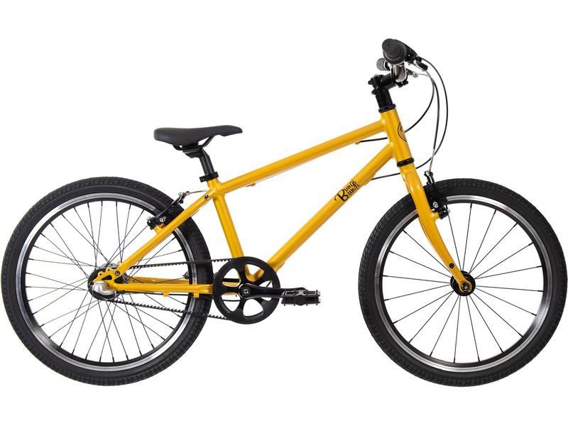 Bungi Bungi - Dětské kolo 20″ 3-rychlostní ultra lehké ananasová žlutá