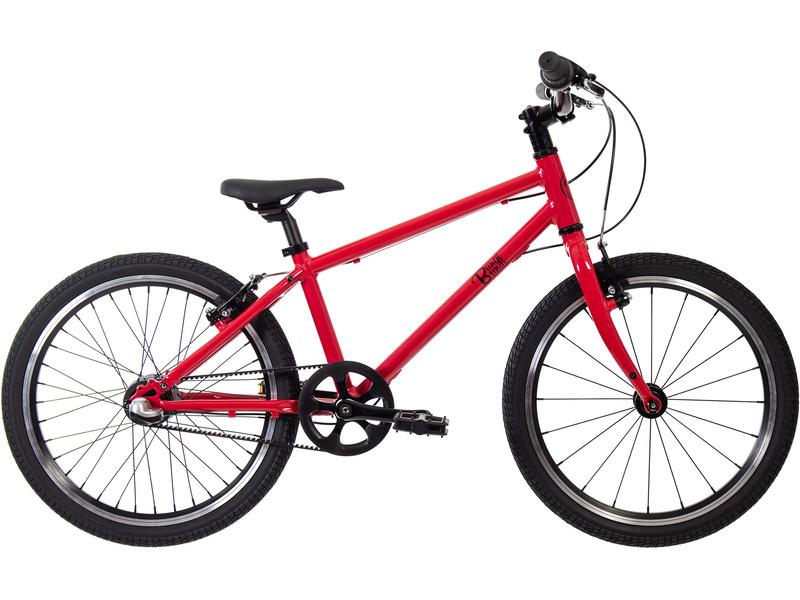 Bungi Bungi - Dětské kolo 20″ 3-rychlostní ultra lehké jahodová červená