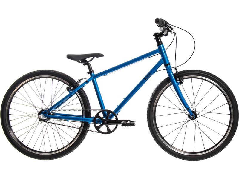 Bungi Bungi - Dětské kolo 24″ 3-rychlostní ultra lehké modré