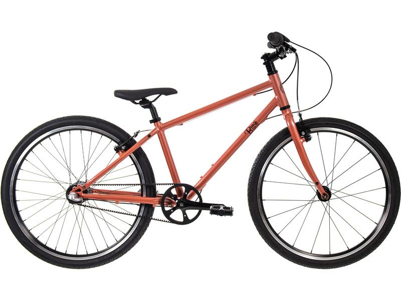 Bungi Bungi - Dětské kolo 24″ 3-rychlostní ultra lehké hnědé