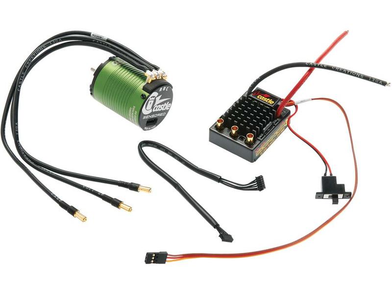 Castle motor 1406 5700ot/V senzored, reg. Sidewinder V3