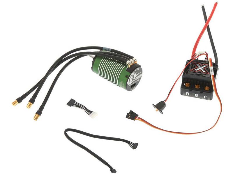 Castle motor 1512 1800ot/V senzored, reg. Mamba Monster X