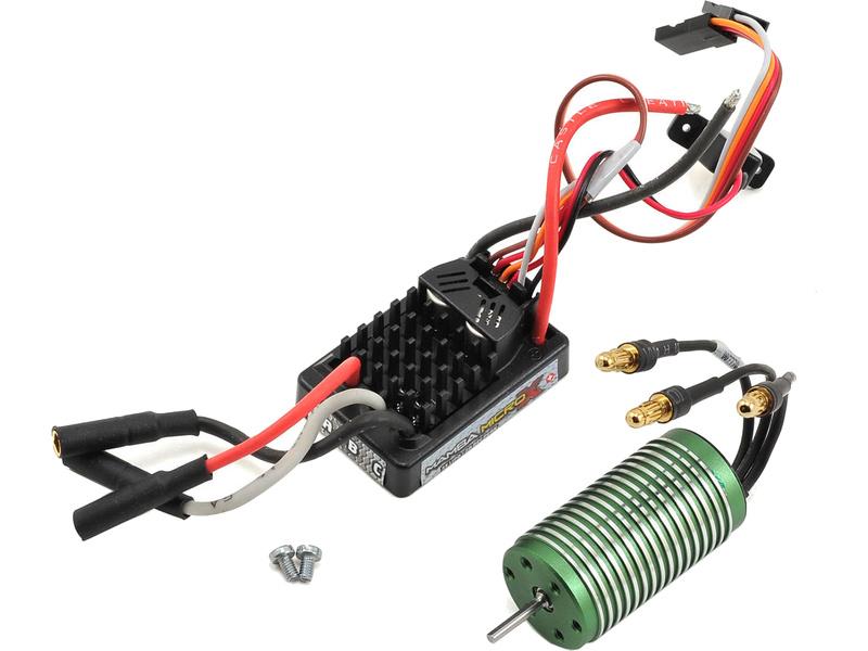 Castle motor 0808 4100ot/V, reg. Mamba Micro X