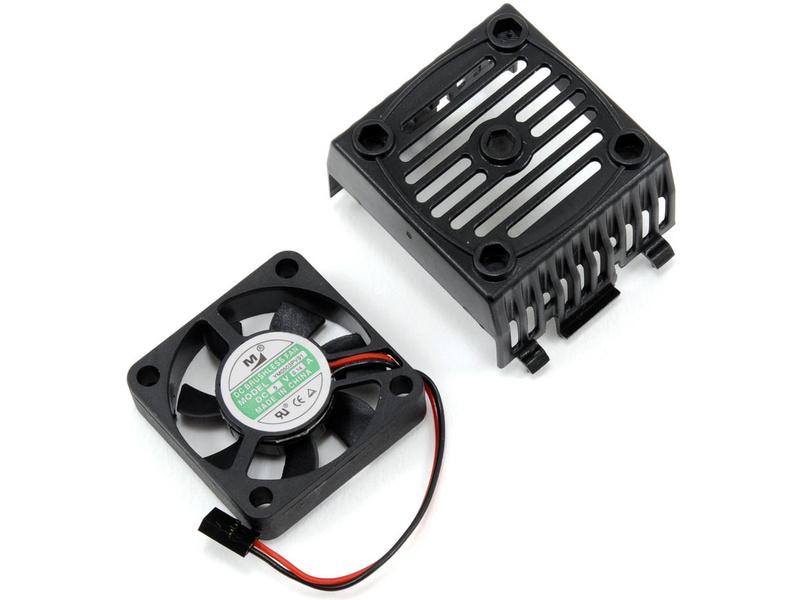 Castle Sidewinder 8 - ventilátor