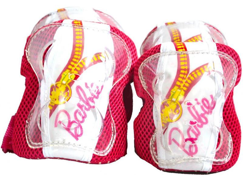 DINO Bikes - Dětské chrániče Barbie