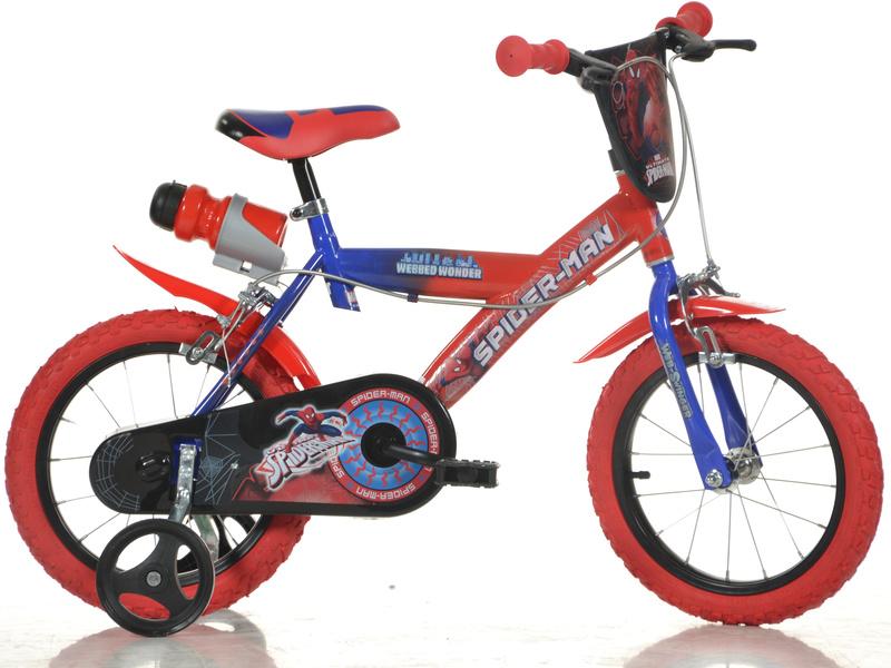 "DINO Bikes - Dětské kolo 16"" Spiderman"