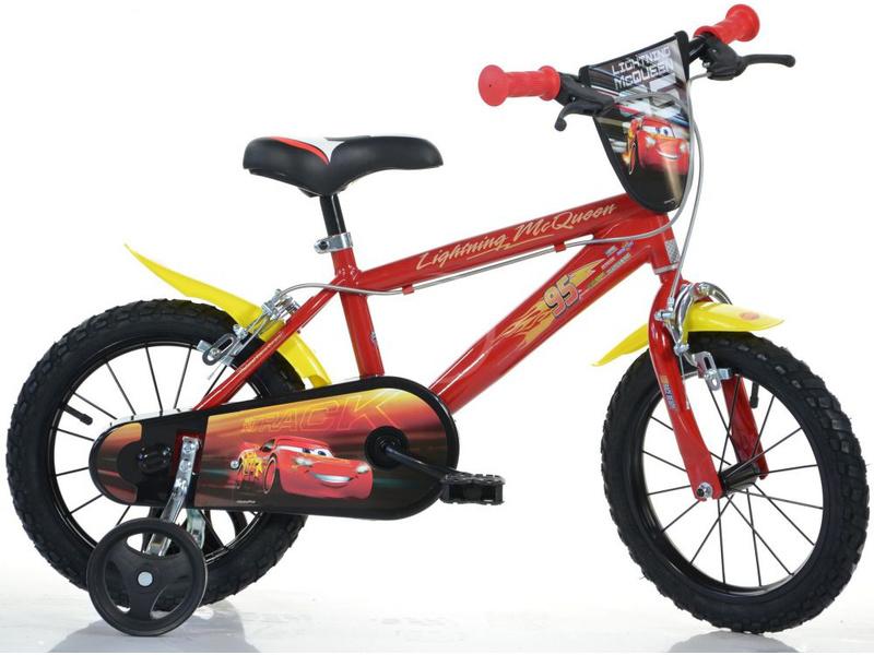 """DINO Bikes - Dětské kolo 16"""" Cars 3"""