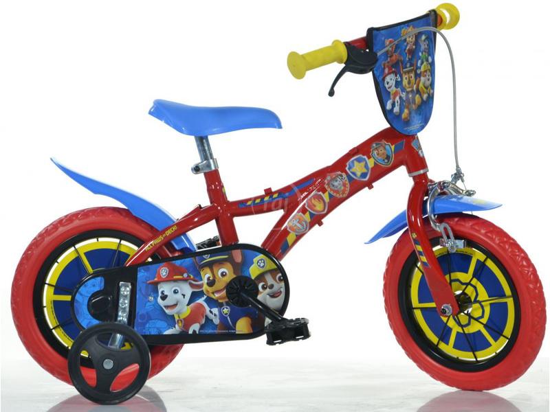 "DINO Bikes - Dětské kolo 12"" Paw Patrol"
