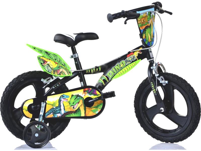 "DINO Bikes - Dětské kolo 14"" Dino T.Rex"