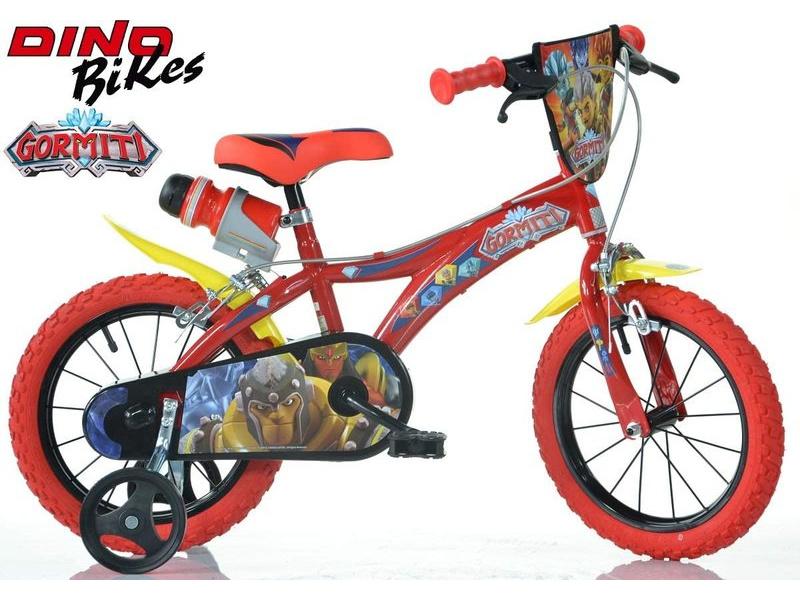 "DINO Bikes - Dětské kolo 16"" Gormiti"