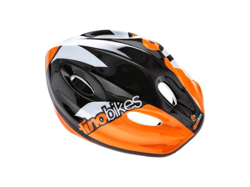 DINO Bikes - Dětská přilba oranžová