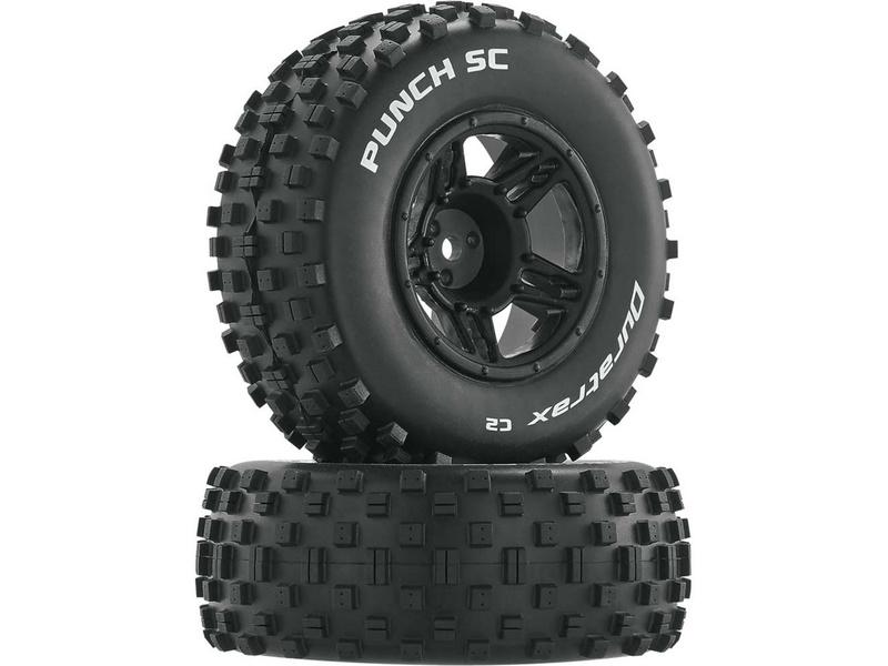 "Duratrax kolo 3.2/2.4"" Slash H12x20mm Punch SC C2 (2)"