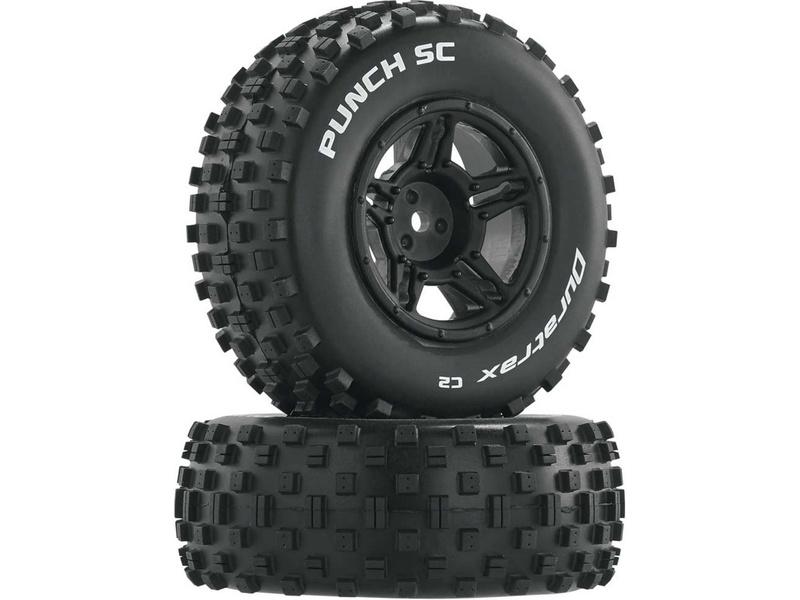 "Duratrax kolo 3.2/2.4"" Slash H12x24mm Punch SC C2 (2)"