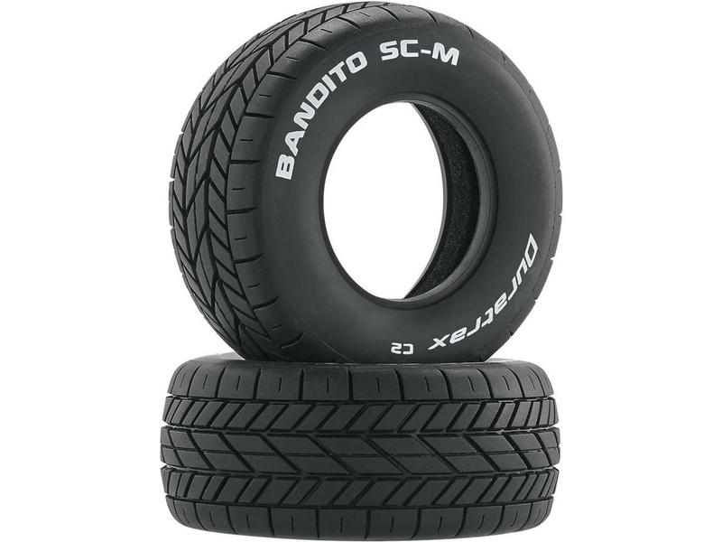 """Duratrax pneu 3.2/2.4"""" Bandito SC-M C2 (2)"""