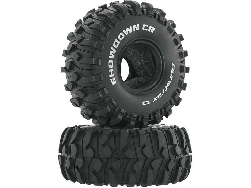 "Duratrax pneu 1.9"" Showdown CR C3 (2)"