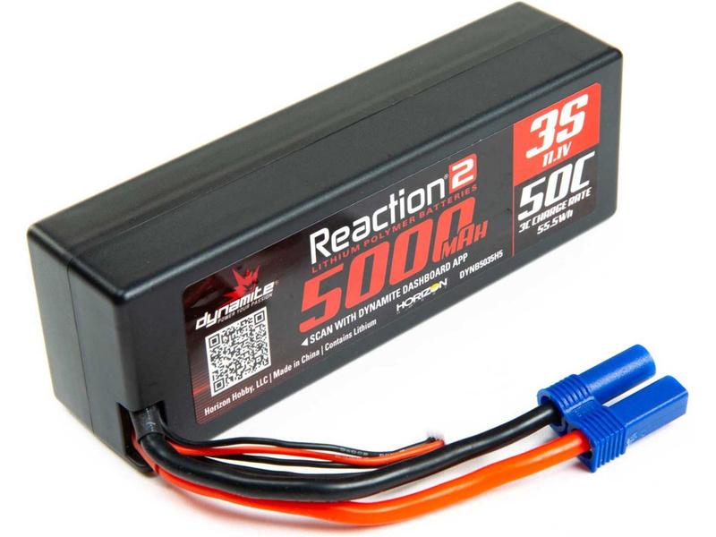 Dynamite LiPo Reaction2 11.1V 5000mAh 50C EC5