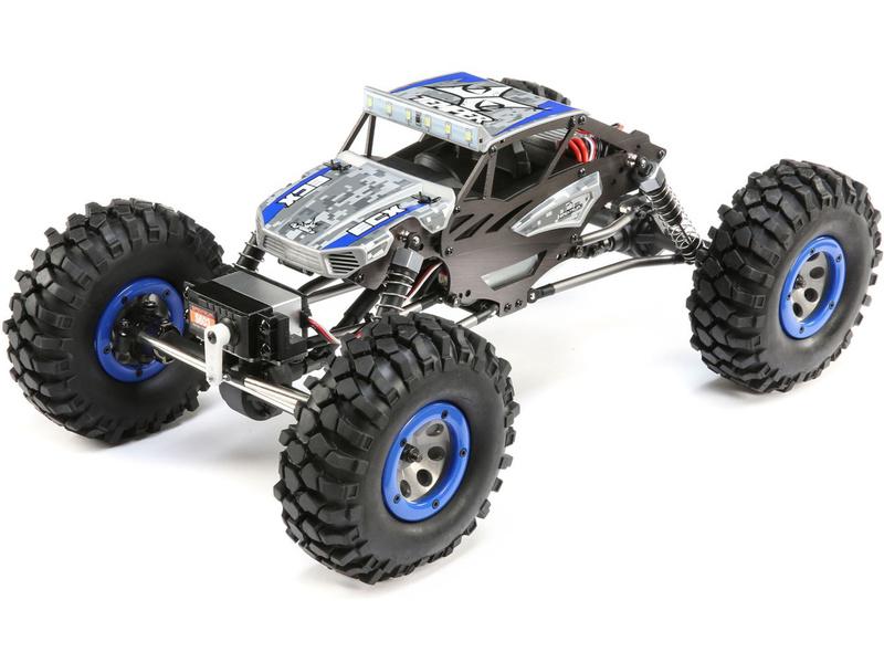 ECX Temper Crawler Gen 2 1:18 4WD RTR modrý