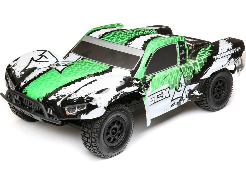 ECX Torment 4WD 1:10 RTR zelený