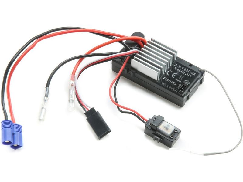ECX přijímač/ESC 2.4GHz Crawler V4 voděodolný
