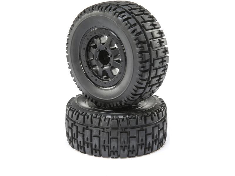 ECX Kolo s pneu P/Z (2): Torment 4WD