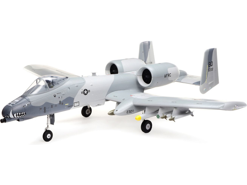 E-flite A-10 Thunderbolt II 1.1m SAFE Select BNF Basic