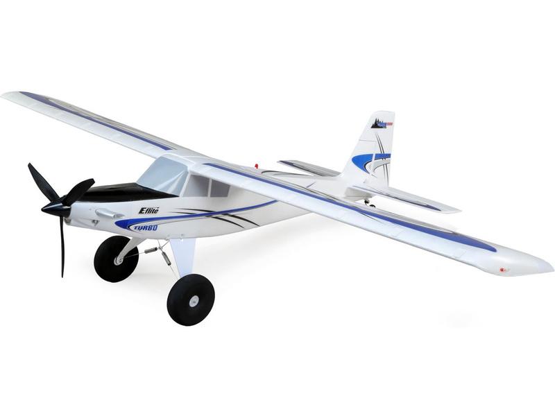 E-flite Turbo Timber 1.5m SAFE Select BNF Basic, plováky