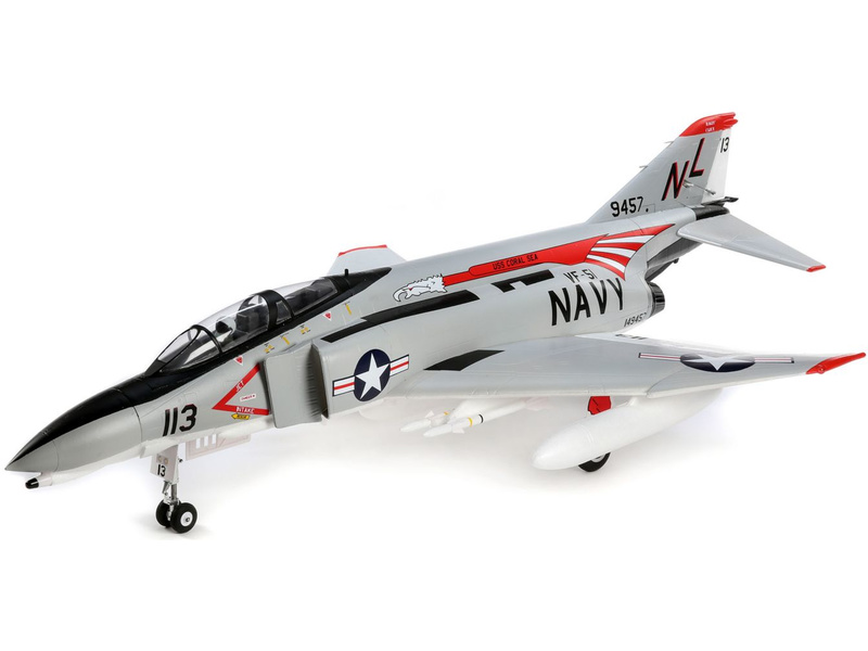 E-flite F-4 Phantom II 0.9m SAFE Select BNF Basic