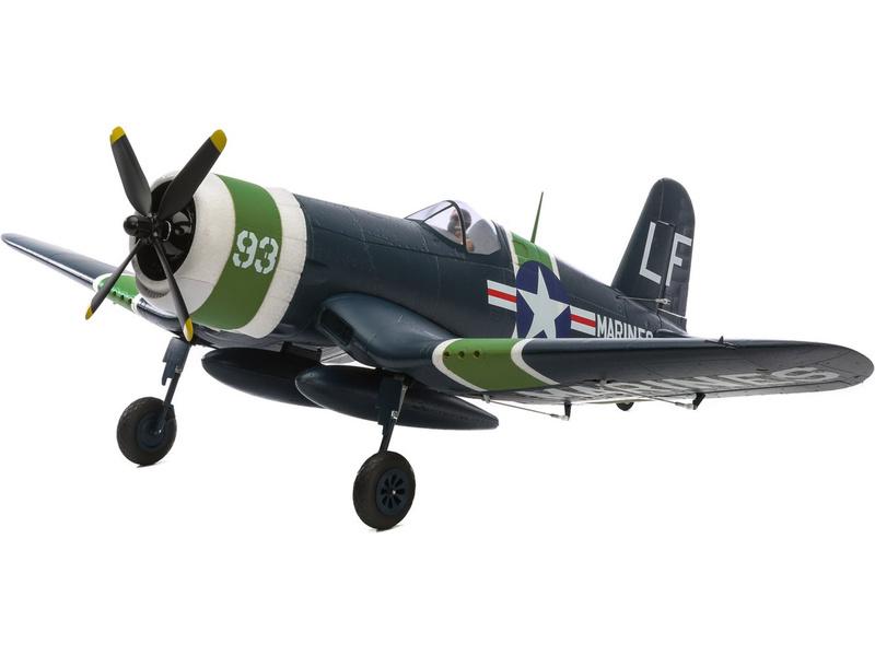 E-flite F4U-4 Corsair 1.2m AS3X BNF Basic