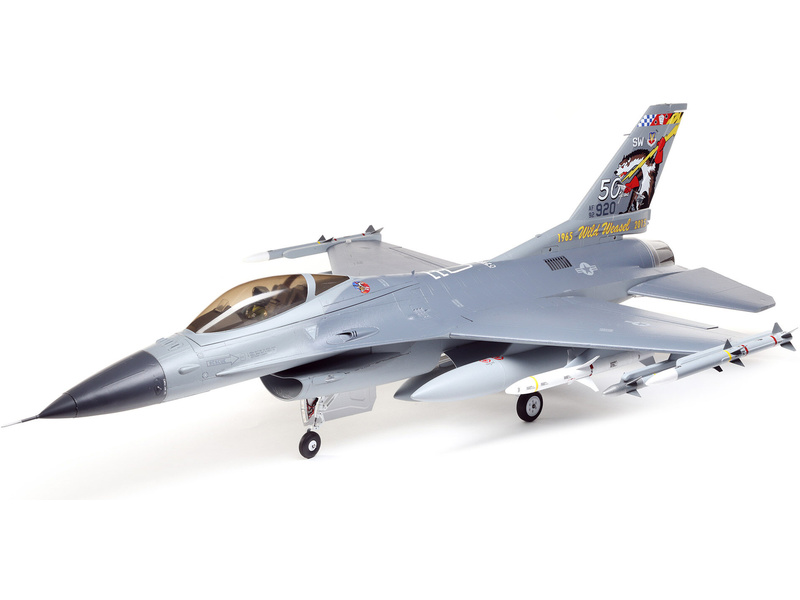 Náhled produktu - E-flite F-16 Falcon 80mm EDF 1.0m Smart SAFE