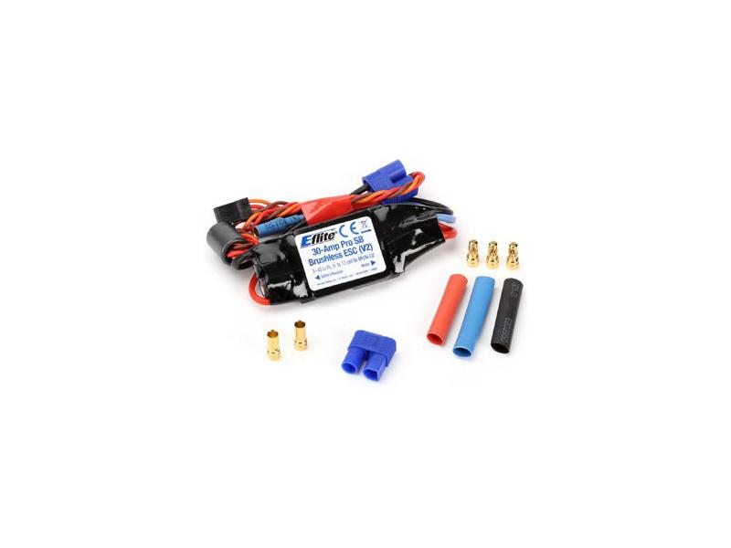E-flite regulátor střídavý 30A PRO V2 SB Coated