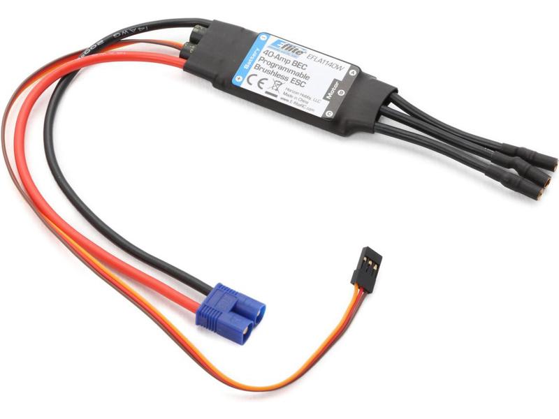 E-flite regulátor střídavý 40A