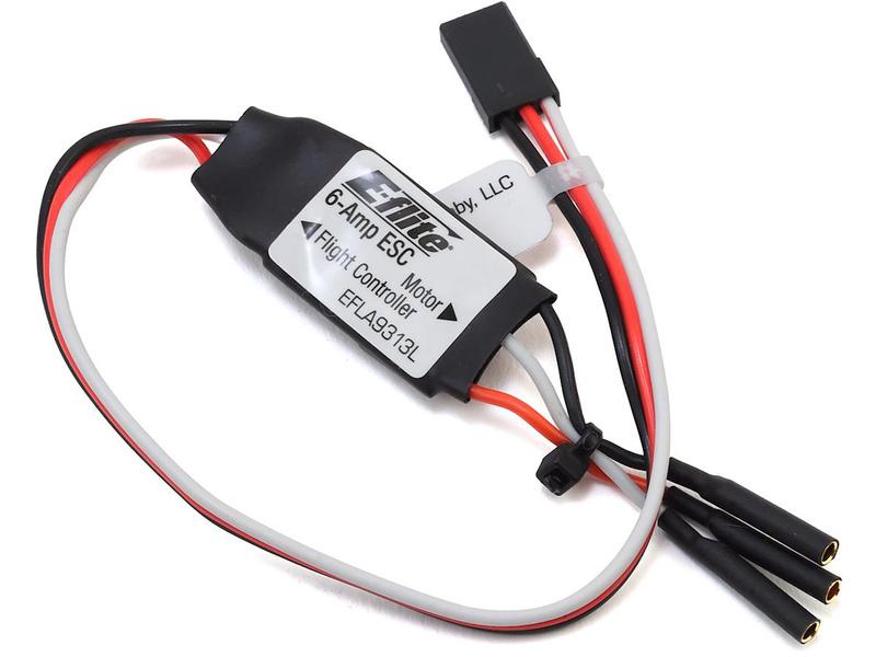 E-flite regulátor 6A, dlouhý kabel: Mini Convergence