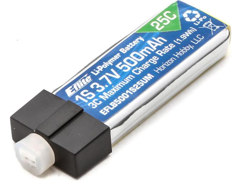 E-flite LiPo 3.7V 500mAh 25C UMX