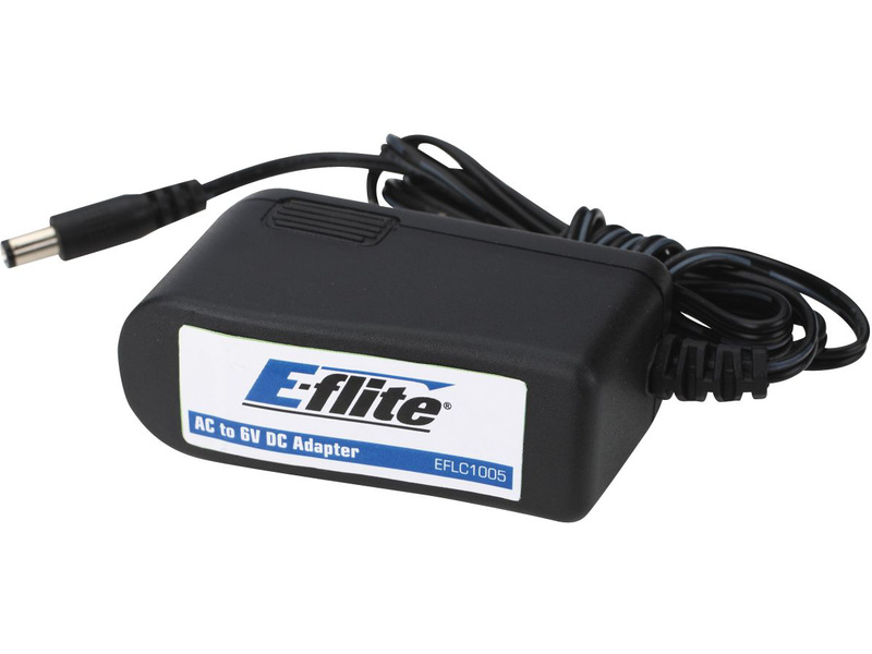 E-flite síťový zdroj 6V 1.5A