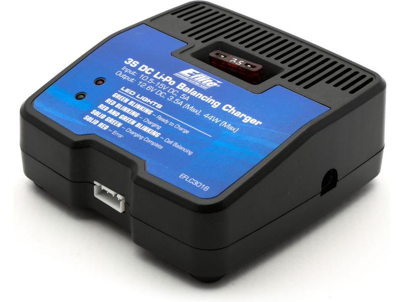 E-flite nabíječ LiPo 3 články s 3.5A balancérem